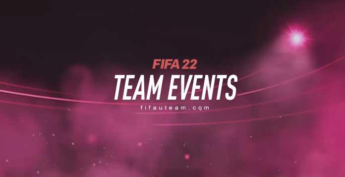 FIFA 22 Team Events