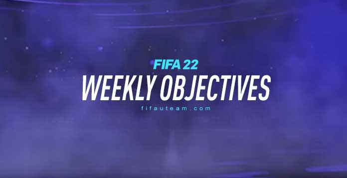 FIFA 22 Weekly Objectives
