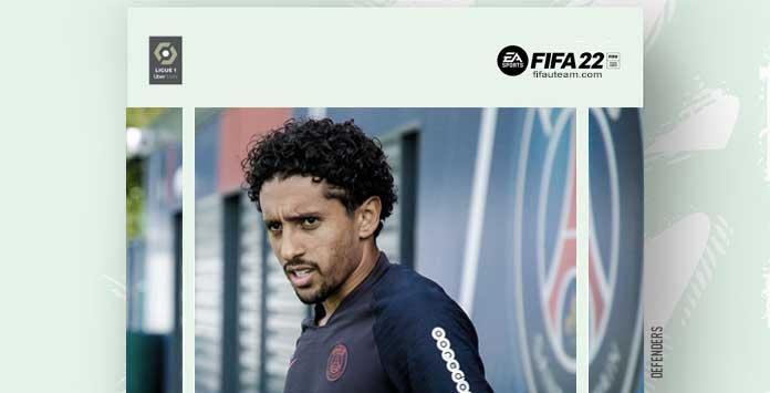 FIFA 22 Ligue 1 Defenders