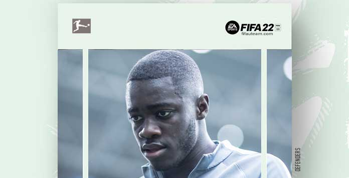 FIFA 22 Bundesliga Defenders