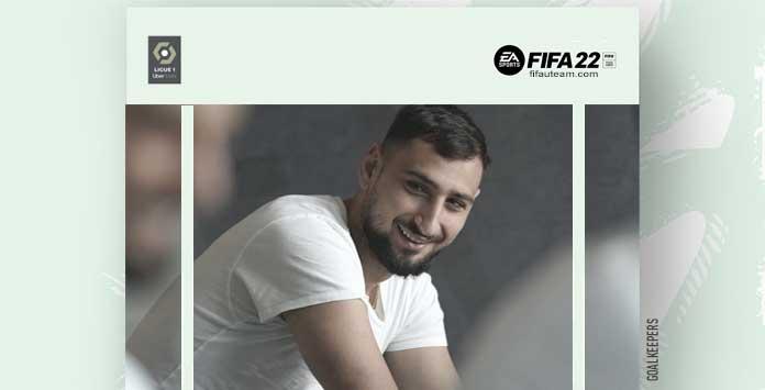 FIFA 22 Ligue 1 Goalkeepers
