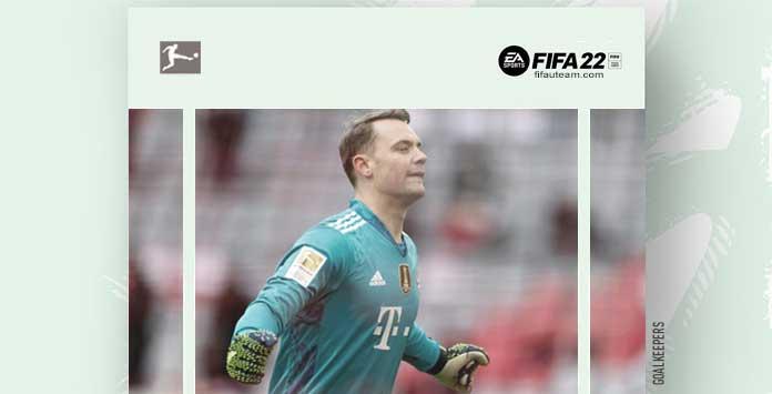 FIFA 22 Bundesliga Goalkeepers