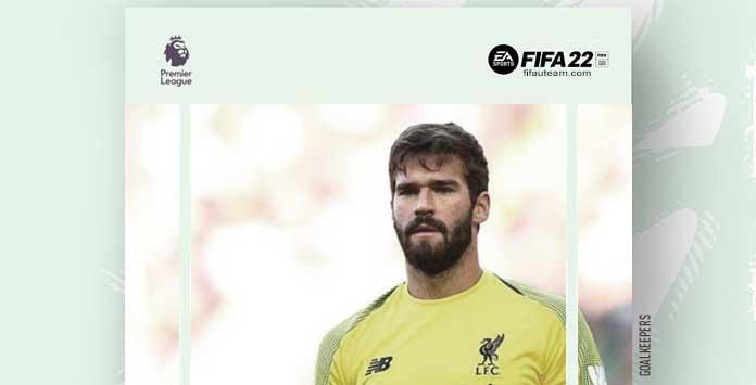 FIFA 22 Premier League Goalkeepers
