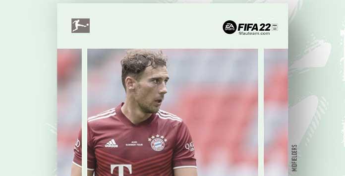FIFA 22 Bundesliga Midfielders