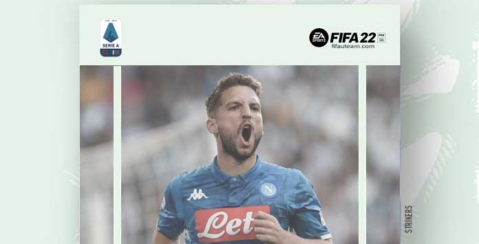 FIFA 22 Serie A Forwards and Strikers
