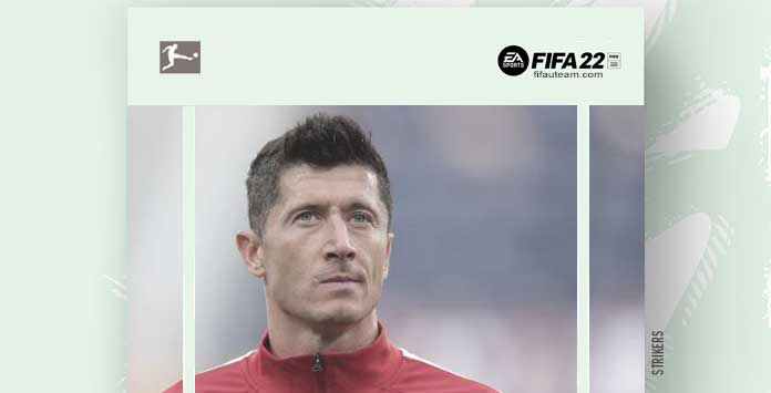 FIFA 22 Bundesliga Forwards and Strikers